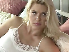 Busty stepmom has a fantasy about fitting her son