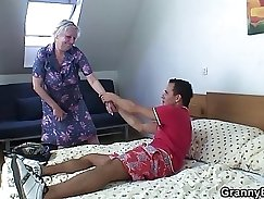blonde fucked in doggystyle and deep