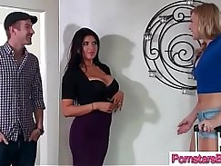 Hot Pornstar Carter Mitchell Takes On Big Cock