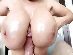 Amazing pornstar Lucy Lockhart in Fabulous Big Cocks, Facial sex scene