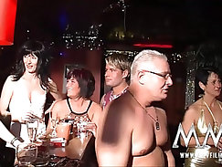 couples have a mature tist off party