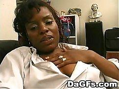 Black Mom Fucks Twins at StripPark