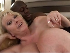 Busty mature milf gives wicked fuck before pussy pounded