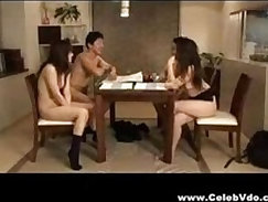 Asian hottie forc Family Fuck