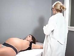 Orgasm over head nurse