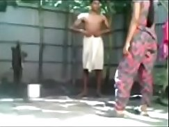 Woollaki sexy couple get fucked outdoor by big dick