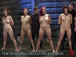 Ethnic Slaves Twins fucked for money