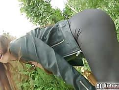 Ass to mouth cum from my eurobabe
