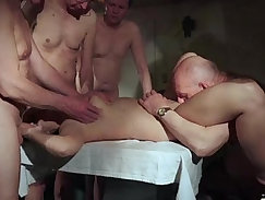tension breaking Orgy fucking after XXXF Rent Tip