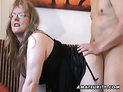 Amateur Brunette Tiffany Awesome Big Tits and Cum
