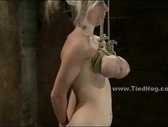 Big Titty Blond Sucks Cock, Dildo Pays