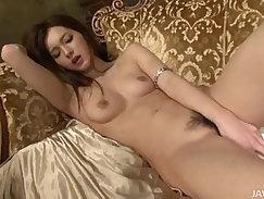 Big titties dildo fucks pussy of a Japanese girl