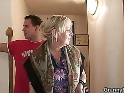 Busty Post-Job Young Maid Morning Sex