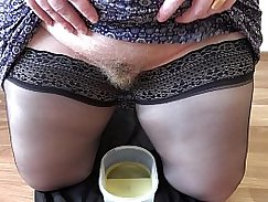 Perfect ass MILF Tanya Rose fetishes and fucks her hairy pussy