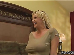 Mature Milf gets hard anal fuck