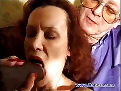 British Mature with cocks fucking