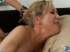Brandi Love bounces on raw cock