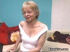 Striptease scenes in which horny moms take their clothes off