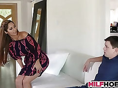 Becoming A Man With MILF