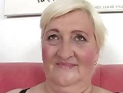 Fat grandma Cecilia fucked hard
