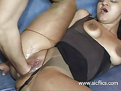Kinky slut brutally fist fucked in her loose bucket cunt