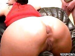 Busty Mature Maid Cock Sucking Gangbang