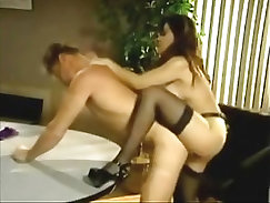 Beautiful femdom cant resist mancressive with strapon