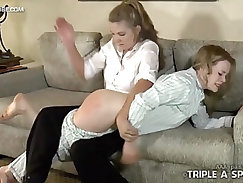 Mommy Spanks Daddys Little Princess