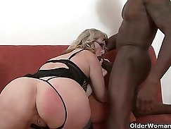 Beautiful MILF Ignipes Lit Enema Fists & Beyond With A Black Cock