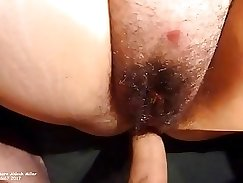 Another long and short pussy creampie