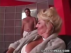 Busty TS Samantha Gets Her Covered Pussy Fucked Hard By A BBC