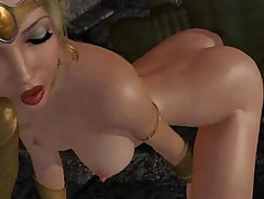 Strange porno with fucked-up people indulging in their dark desires