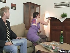 Hot sex with granny