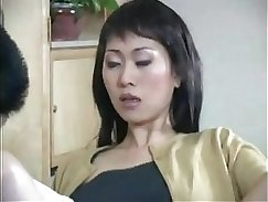 Asian hottie using her toy to pleasure herself
