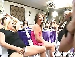 Crazy party sex with beautiful babes sparkling and naughty