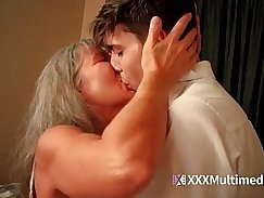 Sexy step mom from fucking her sons young