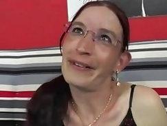 Busty brunette milf Doris Lane fucked till he cums
