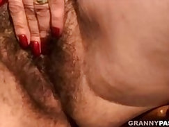 Coed Is Horny For Hairy Pussy